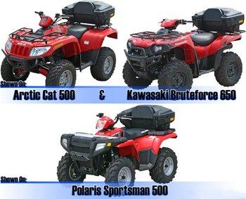 500CC/800CC ATV/QUAD STORAGE BOX /TOP CASE/ COFFER/ LUGGAGE BOX