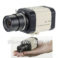 "Free shipping ! 1/3"" SONY 960H EXview HAD CCD II 700TVL  0.0003Lux Mini Real-WDR OSD DIS Digital Zoom Box Camera (Without lens)"