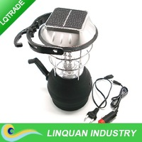 Hand crank camping lantern solar 36LED camping light 3 gears switch/ portable lantern /tent lights