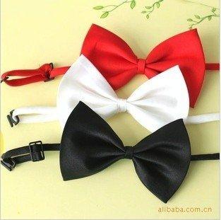 2014 gravatas masculinas necktie gravata mens imitation silk tuxedo adjustable neck bowtie bow tiemen's ties  #5054