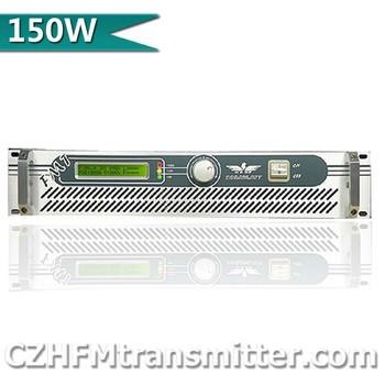 100w 150W 2U Professional FM Broadcast Radio Transmitter FM transmisor 87-108 Mhz