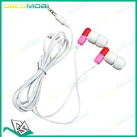 2012 Novel Cute Capsule Style Earphone  In-Ear Earphone Headphone 3.5mm for MP3 MP4 50Pcs/Lot DHL Free Shiping