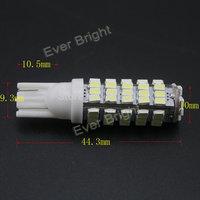 Super Bright!! 100x T10 68 SMD 194 168 1206 68SMD LED light Bulbs Super white Signal Light Wedge Light Bulb 12V Auto Lighting