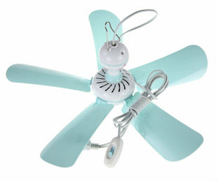Mini ceiling fan for mosquito net Gentle wind Quiet Long life time 8W to 11W(China (Mainland))