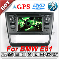 2013 New In Dash CAR GPS For BMW 1 Series E81 E82 E87 E88 With Stereo Radio DVD Player