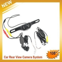 Free Shipping,2.4G Wireless waterproof night vision Car Rear View Reversing Camera
