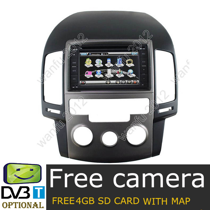 Car dvd for Hyundai i30 (manual air condition) Car GPS Navigation Player,Radio,TV SWC 6CDC PIP Stereo system(China (Mainland))