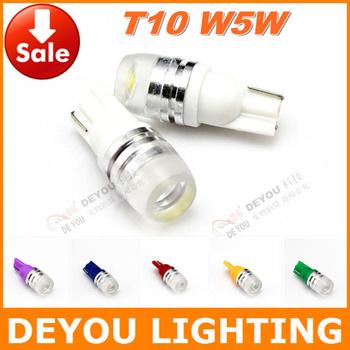 Best selling 2pcs High quality T10 W5W 192 168 921 1.5W LED Width Lamp  signal indicator car wedge light bulb car lighting