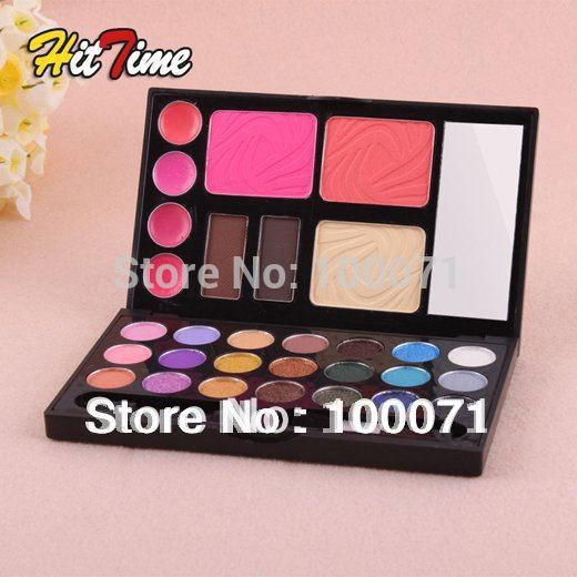 2013 New Hot Sale 30 Color Eye shadow Blush Lip Gloss Eyebrow Facial Beauty Cosmetic Makeup Palette#20858(China (Mainland))