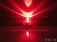 60pcs  Red Submersible Wedding Floralyte LED candle light  flameless candles