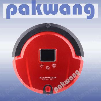 Multifunctional Robot Vacuum Cleaner, LCD Screen, Preset Clean Time, Robot Vacuum Cleaner