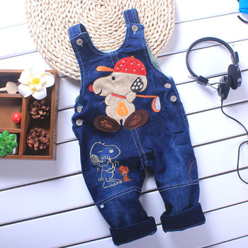 1pc, Baby Boys Girls Jeans Romper, Baby Suspender Trousers, Baby Jumper pants Jumpsuit, Freeshipping