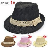 Kids Fedoras Baby Fedora Hat Letter Printed Kids Fedoras Jazz Cap Children Summer Hat Boys and Girls Linen Cowboy Hat