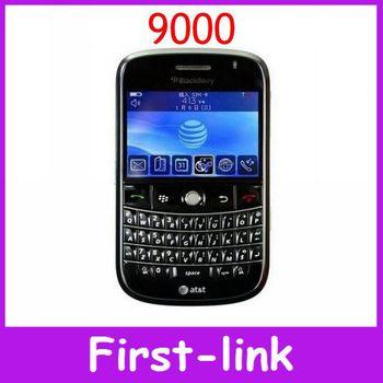 Unlocked original Blackberry Bold 9000 cell phone English keyboard 2MP camera wifi GPS 3G network Free shipping in stock