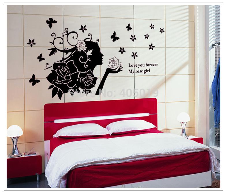 140x70cm 55 X28 Ay858a Marilyn Monroe Wall Stickers Home Decor Love Adesivo De Parede
