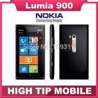 Nokia Lumia 900 Unlocked Original Mobile Phone 3G GSM WIFI GPS 8MP 16GB memory  Windows os  Refurbished 1 year warranty