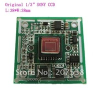 "Free shipping 1/3"" Sony Super HAD CCD 3142+673  420TVL  Color Board Camera PAL/NTSC for CCTV camera DIY"
