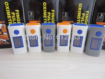 10pcs Newest Technique OLED Display 4 Direction 6 Modes SPO2 PR Monitor Fingertip Pulse Oximeter