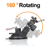 Car Universal DVR Camera Mount Holder Car Driving Recorder Mount 360 degree to Fix the Device