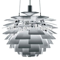 Free Shipping  Wholesale dia 50cm  Louis Poulsen PH Artichoke Lamp White Denmark Modern Suspension Pendant Light