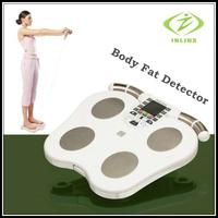 Free DHL 2 pcs/lot Digital Personal BIA Body Fat Monitor bmi body fat monitor Home Using Analysis Report health monitors