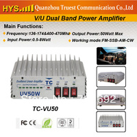 Dual band VHF UHF Amplifier TC-vu50+DHL Free Shipping