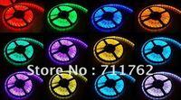 Free Shipping DC12V 5050 Waterproof Flexible Strip LED Ribbon 1m 60 led 5m 300 led RGB LED Tape LED Strip