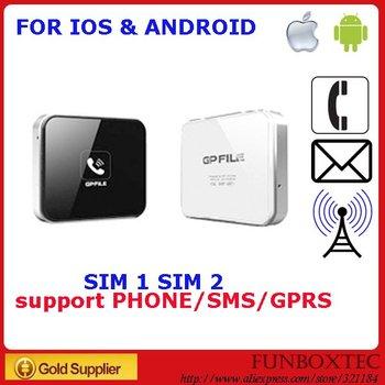 GPFile MINI for iPhone/iPad/iPod/Android Bluetooth External Dual SIM Converter, not Gmate/Apple peel 520/Raisoo Peel/C peel