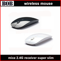 2014 wireless mouse and mice 2.4G receiver, super slim mouse