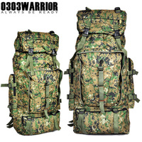 Camouflage Hiking Backpack 70L Waterproof Military Travel Climbing Mountaineering Camping Backpack Bag Moving Hiking backpack