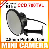 "1/3"" Sony Super HAD CCD II  700TVL Mirror Mini Camera 2.8mm Len Wide Angle CCTV Security Camera"