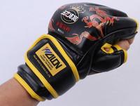 Half Finger Gloves Training Equipment Boxing Gloves Fight Gloves Sanda Gloves For Kickboxing MMA Muay Thai