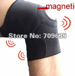 1 Chinese manufacturing Adjustable 12magnetic  neoprene knee support   sport knee -1003