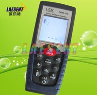 Hot-selling!  0.05 to 70m(0.15ft to 230ft) Laser Distance Meter LDM-70, free shipping