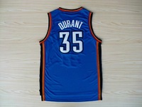 Free Shipping,Wholesale Basketball Jersey,#35 Kevin Durant 2012 new material  Rev 30 jersey