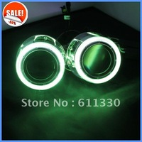 new version 35W 3 inch  h4 hid projector lens with angel eyes