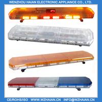 Free shipping ONLY USD365 !!! 0.5W led light,Length 47 inch 120cm ,Led amber warning emergency lightbar TBD-GA-810L2