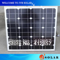 Hot A quality solar panels 50w mono crystalline pv cell module kit to charging battery supply power at factory price