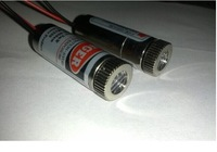 Free shipping 2pcs technical grade 650nm 5mW 5V Laser Dot Diode Module Head straight line diameter 12