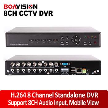 CCTV DVR Recorder 8 channel  VIDEO&AUDIO NETWORK H.264 Stand alone Digital Video Recorder DVR System
