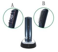 Best selling! Restoration Hair Care Treatment Hairmax Laser Hair Massager comb 1set Free shipping(China (Mainland))
