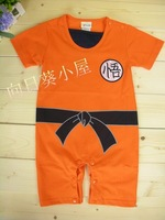 FREE SHIPPING New Baby / Infant Summer Short Sleeve Clothes / Romper 0~24months - DRAGON BALL style