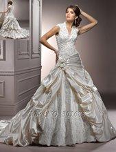 cheap elegant bridal dress
