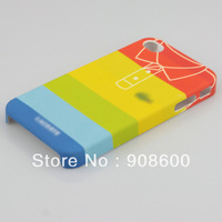 Free Shipping New T-shirt Pattern Hard Cover Case for Apple iPhone 4/4G/4S CL-002