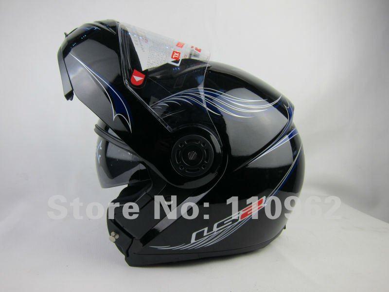 Star matte black dual visor full face motorcycle helmet harley