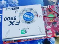 FX5500 256M AGP graphics  new & orginal