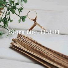 Kraft Paper Especially for you  metallic twist tie   10cm  1000pcs/lot(China (Mainland))