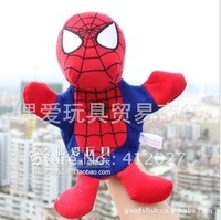 Free shipping Spider-Man Plush Hand Puppet Quaint Toys