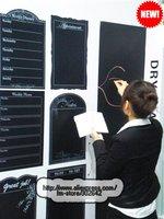 FREE SHIPPING Blackboard Sticker EMS DHL Express Message DIY Chalkboard Lovely Stationery Memo Gift 15Sets/lot say hi 0421