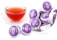 50pcs Lavender puerh  tea, Ripe Pu'er tuo cha ,healthy tea,XTC004, Free Shipping
